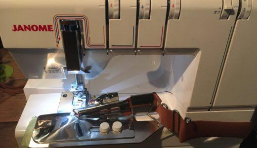 カバーステッチミシン、トルネィオ3 JANOME796の純正バインダーを使用してみた!