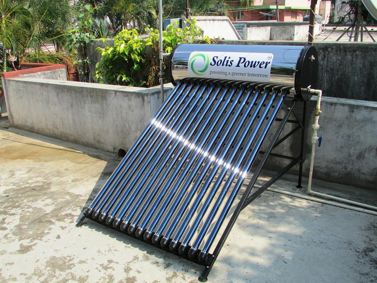 太陽熱温水器をDIYで設置する!その1〜太陽熱温水器ってどんなもの?〜